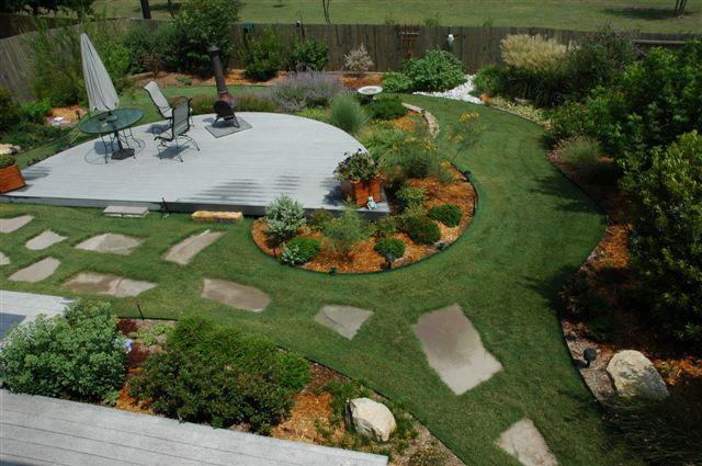 Backyard Landscaping Ideas In Texas : Texas Smartscape Image Gallery